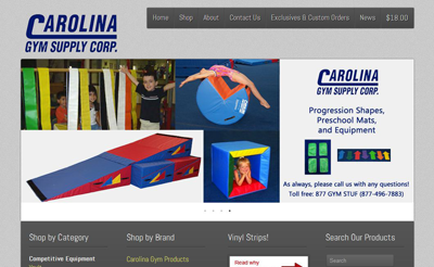 Carolina Gym Supply Corp