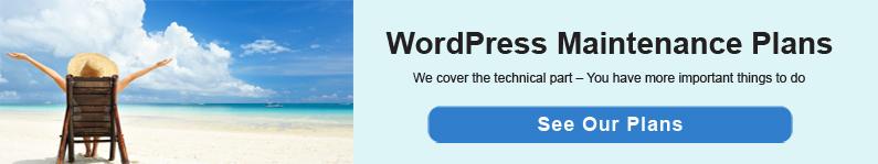 WordPress Maintenance Plan Add